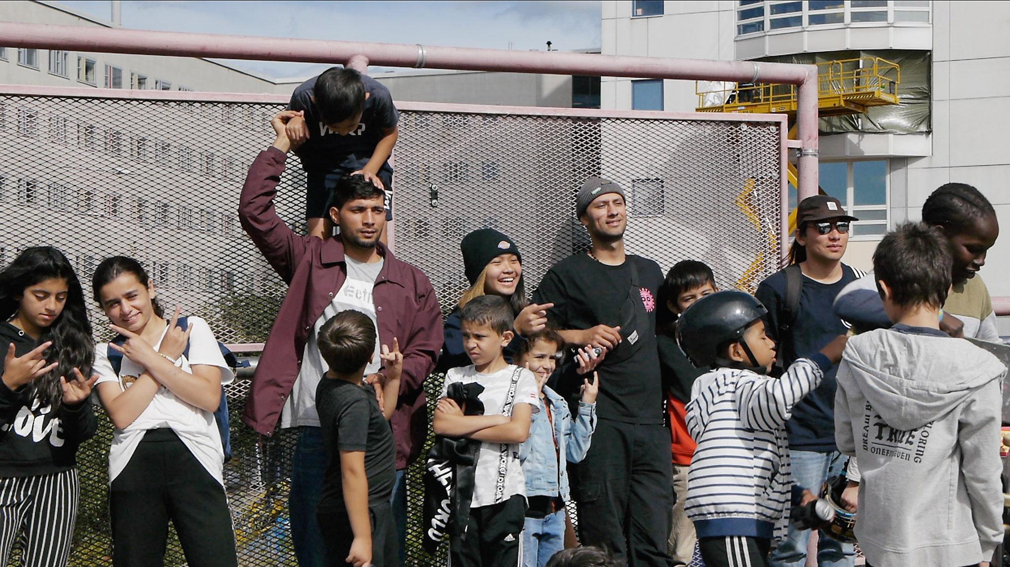 Skateboarding som språngbräda in i Sverige