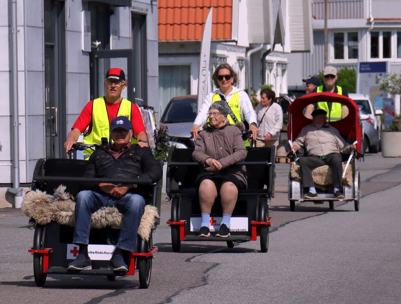 Cykling utan ålder ger äldre en chans till vind i håret igen